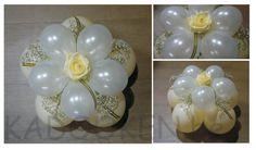 tafeldecoratie huwelijk, huwelijksballonnen, versiering huwelijk, ballondecoratie, ballonnen