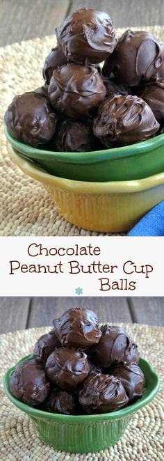 Peanut Butter Cups Balls are a little different in looks but they are just as…