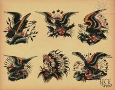#traditional #eagles #tattoos