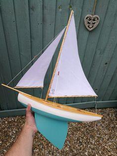 Haycroft Sloop Pond Yacht 2017 - Hand crafted in Devon, UK.