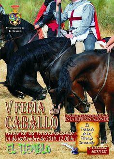 Ferias de El Tiemblo 2014 Alojamiento también para caballos. www.hotelyellow-wood.com