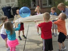 Around the World [an Earth Day game] by Teach Preschool