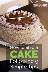 how to ship a cake
