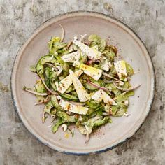 (Chopped Salad with Feta and Yoghurt) Yotam Ottolenghi's Middle Eastern recipes Yotam Ottolenghi, Ottolenghi Recipes, Middle Eastern Salads, Middle Eastern Recipes, Beef Recipes, Salad Recipes, Healthy Recipes, Veggie Recipes, Healthy Eats