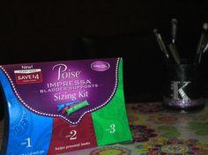 Poise Impressa Bladder Support + $2 off coupon!!!