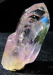 GEM 14 Gram Brandberg Amethyst With Side Shoot AND Rainbow Perfect TIP | eBay