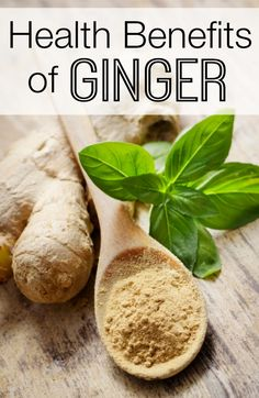 Health Benefits of Ginger ~ http://healthpositiveinfo.com/health-benefits-of-ginger.html