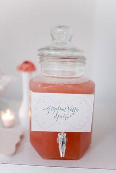 Grapefruit Vodka Spritzer.