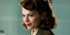 Hayley Atwell as Peggy Carter, in Marvel's Agent Carter Captain America Peggy Carter, Captain America Movie, Hayley Atwell, Marvel Women, Marvel Dc, Marvel Girls, Marvel Heroes, Steve Rogers, Marvel Characters