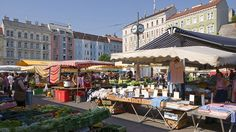 The Karmelitermarkt is one of the oldest existing markets in Vienna.