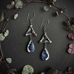 Vinyl Gifts, Fire And Ice, Beautiful Earrings, Opal, Pendant Necklace, Drop Earrings, Jewellery, Sterling Silver, Jewels