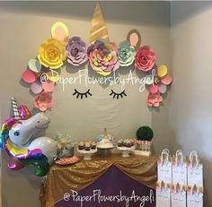 Unicorn birthday decorations
