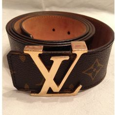 Tip: Louis Vuitton Belt (Brown)