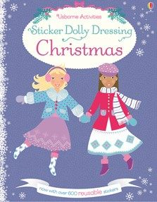 Buy Sticker Dolly Dressing Christmas by Leonie Pratt at Mighty Ape NZ. A festive sticker book containing 13 Christmassy scenes and over 600 reuseable stickers to dress the dollies for different occasions. Pick out clothes. Dolly Dress Up, Christmas Stickers, Christmas Ornaments, Fiona Watt, Christmas Books For Kids, Buy Stickers, Christmas Shopping, Christmas Eve, Holiday Festival
