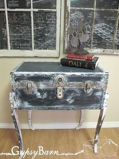 Funky DIY Knock Knee Trunk Table