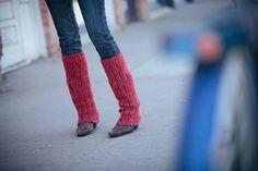 Lacy Leg Warmers - Crochet Me