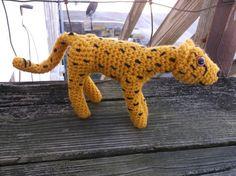 Crochet cheetah cheetah amigurumi toy cat ready to by SalemsShop