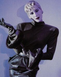1987-88 - Thierry Mugler show - Dauphine de Jerphanion
