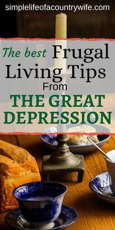 Discover the best frugal living tips from the Great Depression era. Find out ways to save money from people who've been there and know. Living On A Budget, Frugal Living Tips, Frugal Tips, Frugal Meals, Simple Living, Freezer Meals, Save Money On Groceries, Ways To Save Money, Money Tips