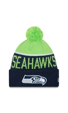 5041ba96722 9c700 20b43  official store nfl mens seattle seahawks new era navy 2015 on field  sport knit hat with