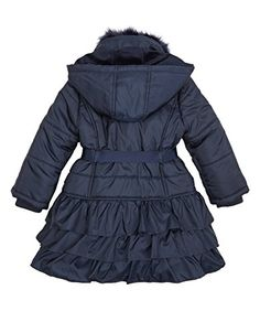 Urban Republic Big Girls PU Leather Vent Design Spring Jacket with