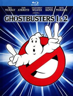 Ghostbusters/Ghostbusters 2 (Blu-ray Disc, 2014, 2-Disc Set, Includes Digital Co