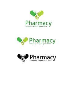 Pharmacy Logo by goodigital on @creativemarket