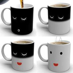 The Morning Coffee Mug Uses Heat to Wake up with You #teacups trendhunter.com