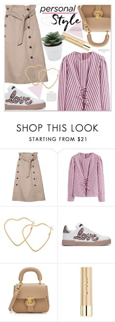 """personal style"" by mycherryblossom ❤ liked on Polyvore featuring Dolce&Gabbana, Burberry, Stila and M&Co"