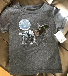 New STAR WARS Darth Vader AT-AT Christmas T-Shirt Baby 12M  Santa 12 Months Kids