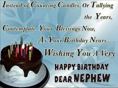 Birthday Wishes Inspirational Quotes ~ Birthday wishes for nephew birthday images pictures birthday