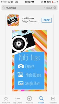 My free photo editing app!