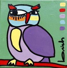 OBRAS : Claudio Baldrich Artista Plastico Monet, Folk Art, Doodles, Birds, Ideas Para, Painting, Fictional Characters, Color, Doodle Art
