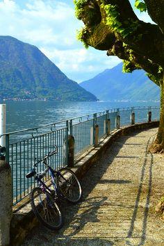 Lake Como, Italy (by Ken Quantick)