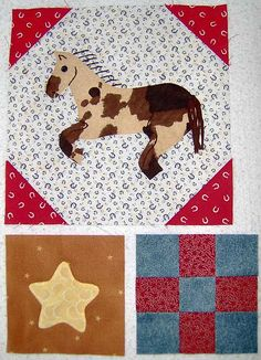 Western blocks for Melissa by Prairie Thistle, via Flickr