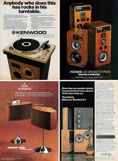 A few months ago (late 2016) I was fortunate to find a mint Kenwood KD-5070 turntable and it is awesome! I would be tickled pink to have those Infinity RS 4.5s - I did own a pair of Infinity RS 2.5s and they were orgasmic!