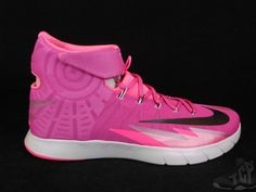 2014 Nike Air Zoom HyperRev BREAST CANCER Pink sz 13 XIII Platinum DS NEW Black #Nike #AthleticSneakers #tcpkickz