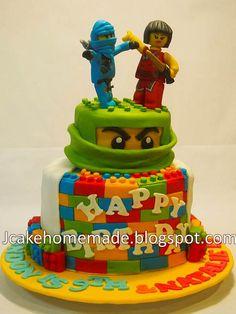 Ninjago birthday cake by Jcakehomemade, via Flickr