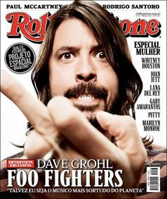 David Grohl, Foo Fighters - Rolling Stone Magazine Cover [Brazil] (March 2012)