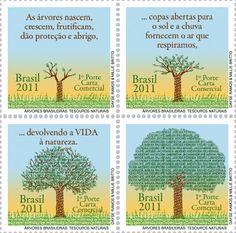 selos brasileiros Desmatamento Árvores Brasileiras 7f856c7d9d84b