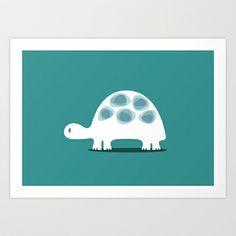 TURTLE Art Print by vaughn shim - $18.00