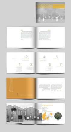 Architektur-portfolio Diagramm der CBT Mommy & Baby: Styles Of Parenting As a parent, you have the o Portfolio Design Layouts, Portfolio Examples, Printed Portfolio, Graphisches Design, Book Design, Layout Design, Design Fails, Time Design, House Design
