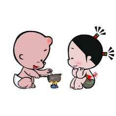 can not wait to cook for you 😍 Love Cartoon Couple, Cute Cartoon Pictures, Cute Love Cartoons, Cute Pictures, Snoopy Happy Dance, Bear Gif, Naughty Kids, Cute Baby Cats, Cute Cartoon Characters