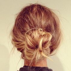 Messy Bun: Nothing goes better with music than a messy bun, so texturize your hair with some dry shampoo and throw it into a messy bun for t...