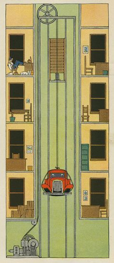 """""""The Modern Storybook"""" by Wallace Wadsworth, illustrations by Ruth Eger. Chris Ware, Print Magazine, Postmodernism, Book Design, Artsy Fartsy, Illustrators, Design Inspiration, Action, Graphic Design"""