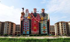 Chinese president Xi Jinping wants to put a stop to China's bizarre building syndrome. Here are the most outlandish oddities that have appeared so far