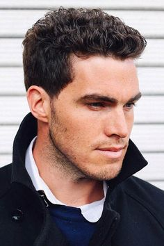 32 Sexiest Short Curly Hairstyles For Men Beach Wawes ★ Short curly hairstyles for guys are often misconstrued as frizzy or hard to tame. Check out our photo gallery of hottest looks for short curly hair for men. ★ See more: Male Haircuts Curly, Cool Haircuts, Haircuts For Men, Men Curly Hairstyles, Formal Hairstyles, Short Haircuts, Modern Haircuts, Black Hairstyles, Wedding Hairstyles