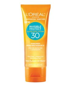 L'Oréal Advanced Suncare Clear Cool Lotion Review | A review of L'Oréal Advanced Suncare Clear Cool Lotion, the sunscreen that just might change your life. #refinery29 http://www.refinery29.com/loreal-advanced-suncare-clear-cool-lotion-review