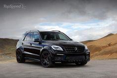 2013 Mercedes ML63 AMG Inferno Black By TopCar