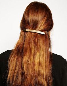 ASOS Gold Hair Barrette
